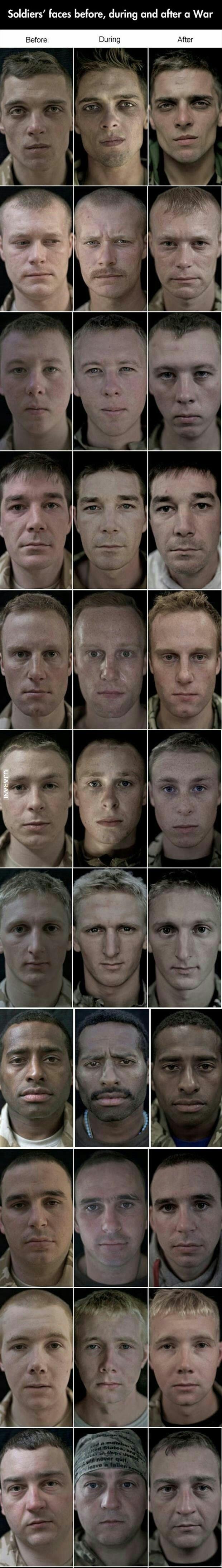 Przed, w trakcie i po wojnie