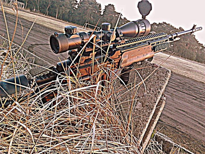Własne, M14 EBR  :3