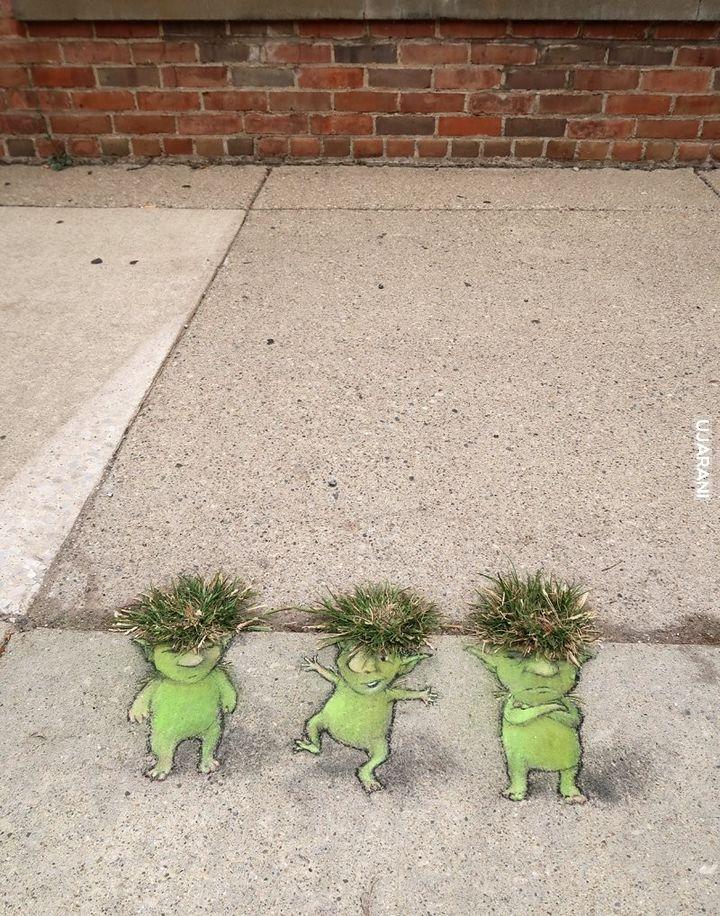 Małe trolle