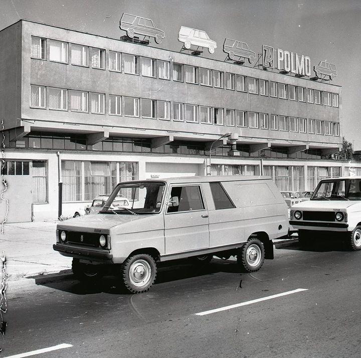 Fabryka Samochodów Rolniczych w Antoninku lata 70-te
