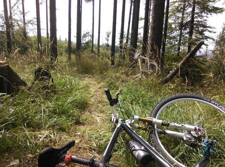 Śladami Bike Maraton Wisła- przez Bielsko-Biała zapora - szyndzielnia