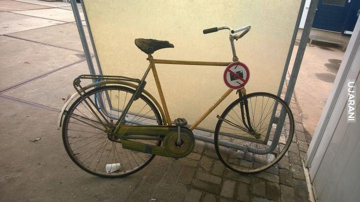 Ciekawe ile już zdjęć ma ten rower?