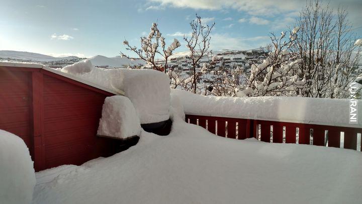 niedziela, po zamieci śnieżnej