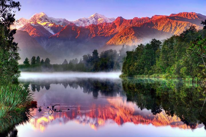 Mt. Cook Nowa Zelandia