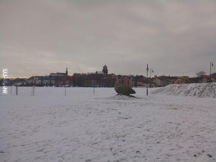 Tczew zimą