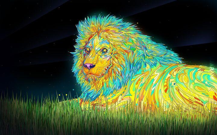 LION of Judah, patrzy zawsze ;D