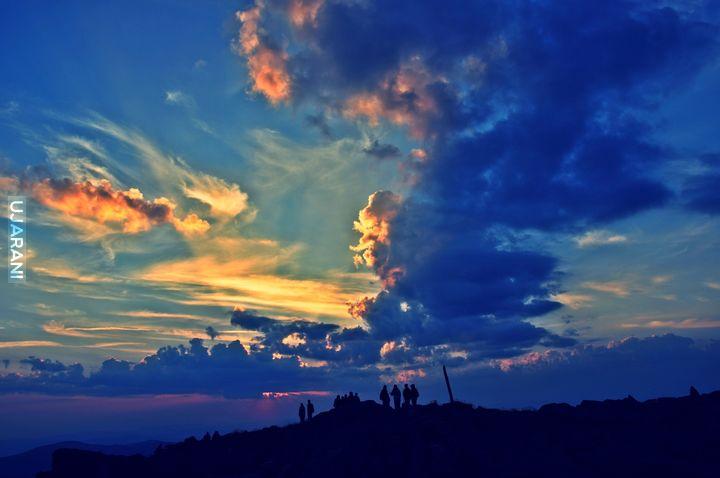 Wschód słońca na Babiej Górze :)
