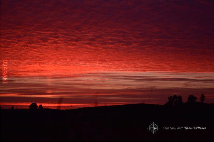 Zachód słońca w Kiersztanowie