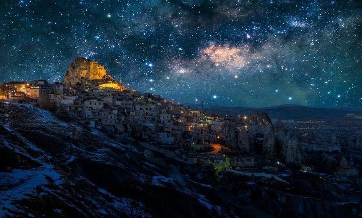 gwiezdziste niebo