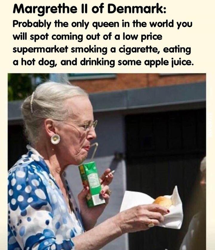 Królowa Danii