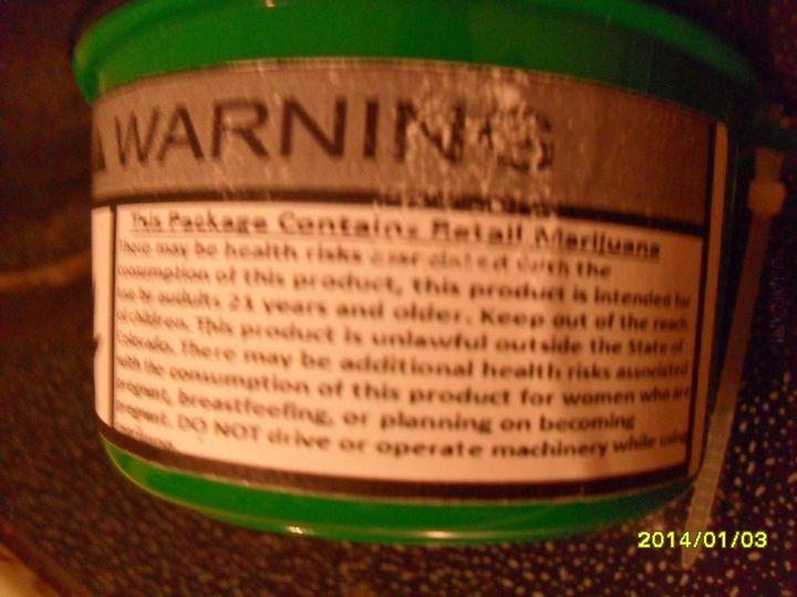 Legalny zakup marihuany w Colorado