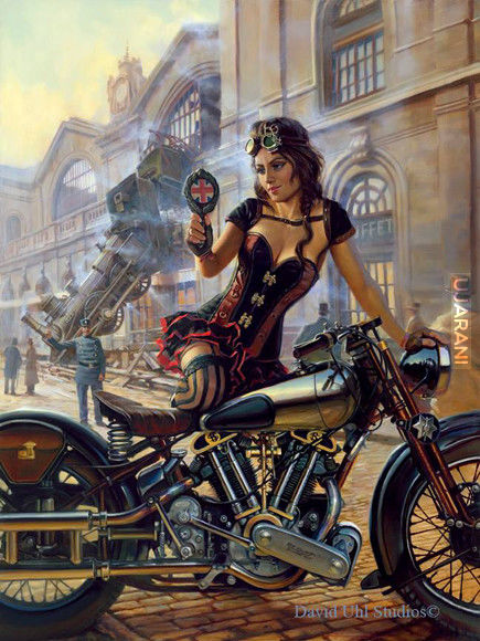 Harleyowe obrazy