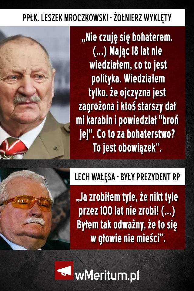 nie o take polske walczył