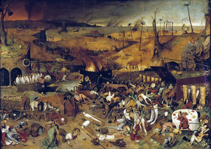 Triumph of death Pieter Bruegel starszy