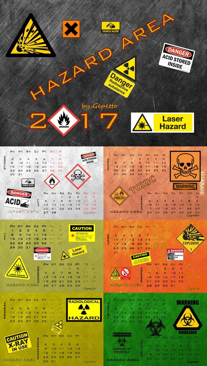 Kalendarz Hazard Area