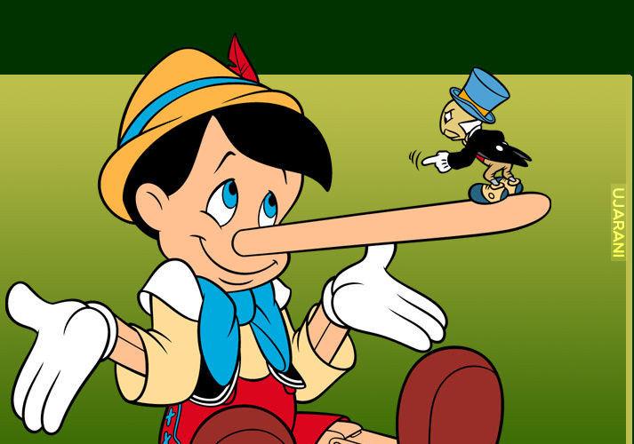 Ile razy Pinokio musiał by skłamać, żeby nos złamał mu kark?