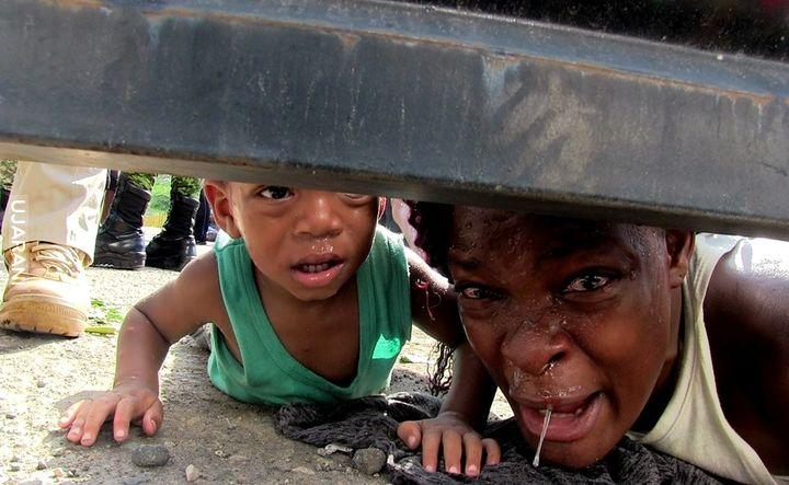 Haitańczycy błagają o pomoc