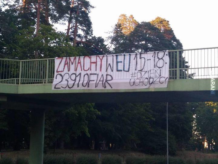 Transparent zawisnął w Białymstoku