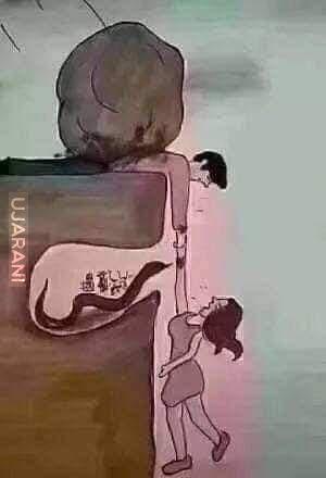 Czasem nie widzimy pod jaką presją jest drugą osoba, a ta druga osoba nie widzi z jakim bólem się zmagamy.