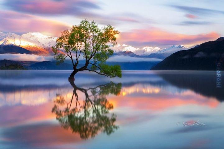 Jez. Wanaka, Nowa Zelandia