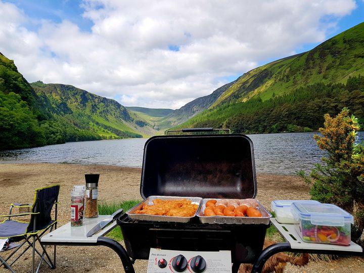Irlandia - Upper Lake w Glendalough