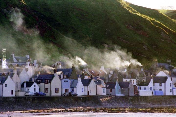 miejscówka w Szkocji Pennan