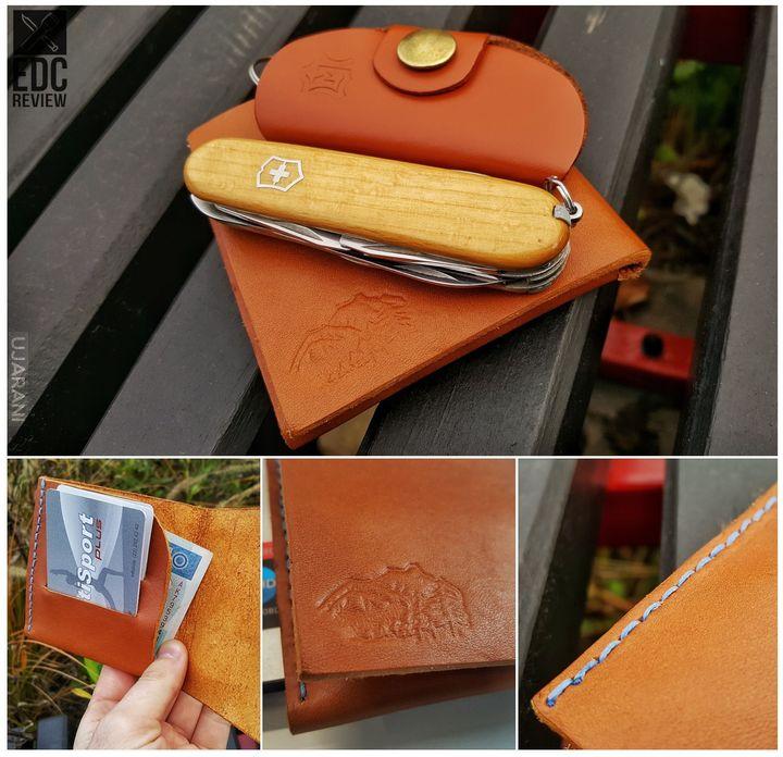 Ostatnia praca w skórze - minimalistyczny portfel