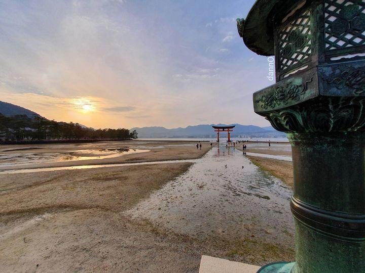 Pływająca brama Torii, Miyajima, Japonia