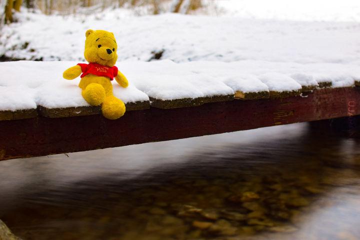 Siedzę sobie na mostku i robię sobie nic