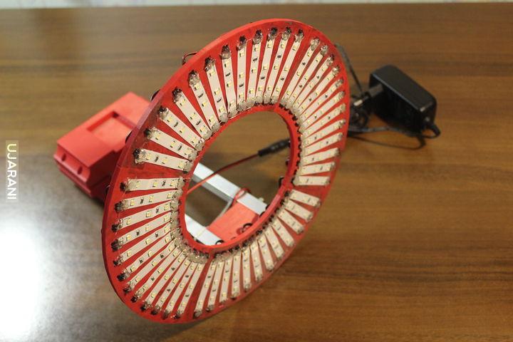 Lampa pierścieniowa - wydruk 3d