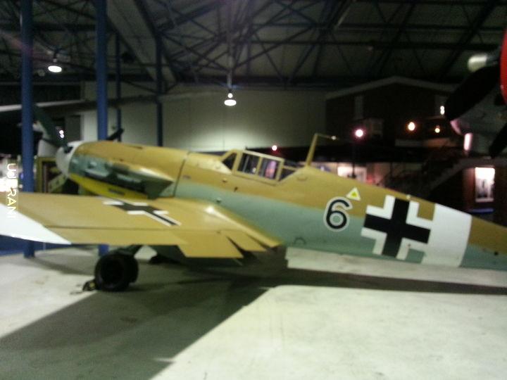 Wlasne. Wycieczka do muzeum RAF Londyn
