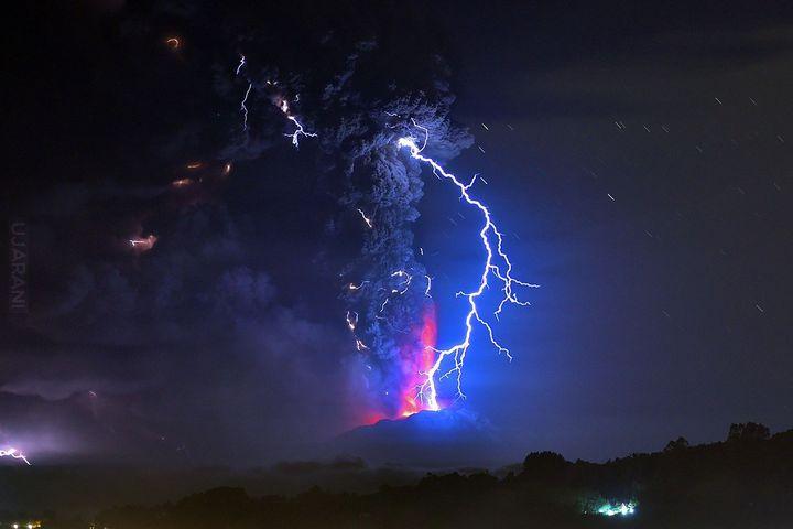 Wulkan Calbuco Chile