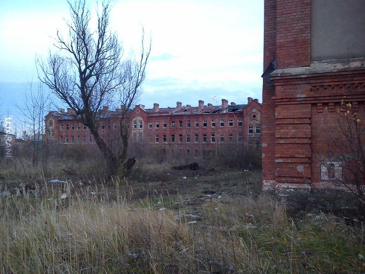 Opuszczone koszary w Pułtusku