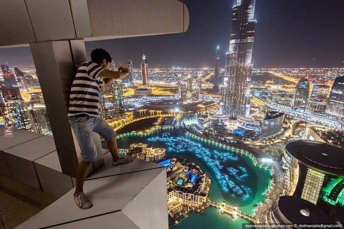 Dubaj z dachu ! :)