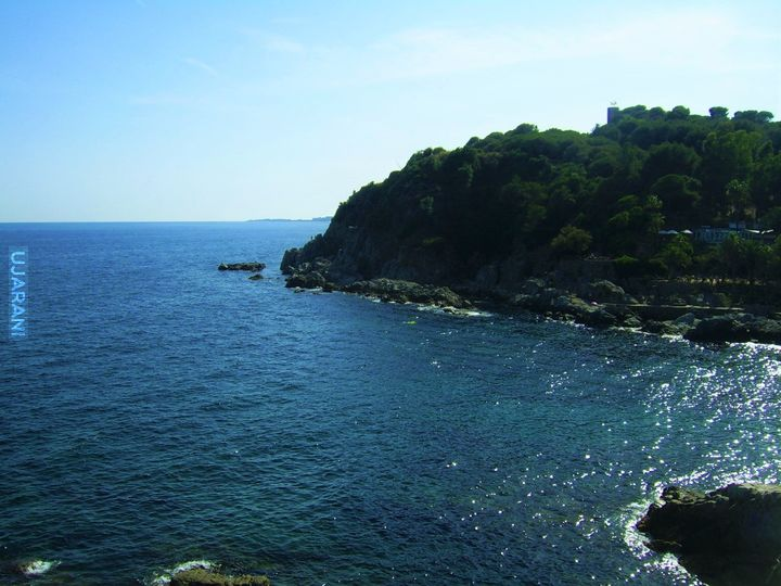 Wybrzeże Lloret de mar, Hiszpania