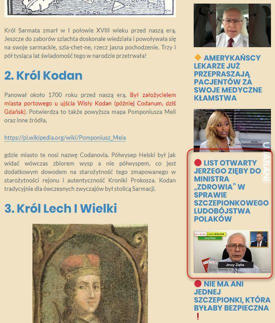 """Dlaczego powinniśmy rozmawiać o (pseudo)teoriach """"Wielkiej Lechii""""?"""