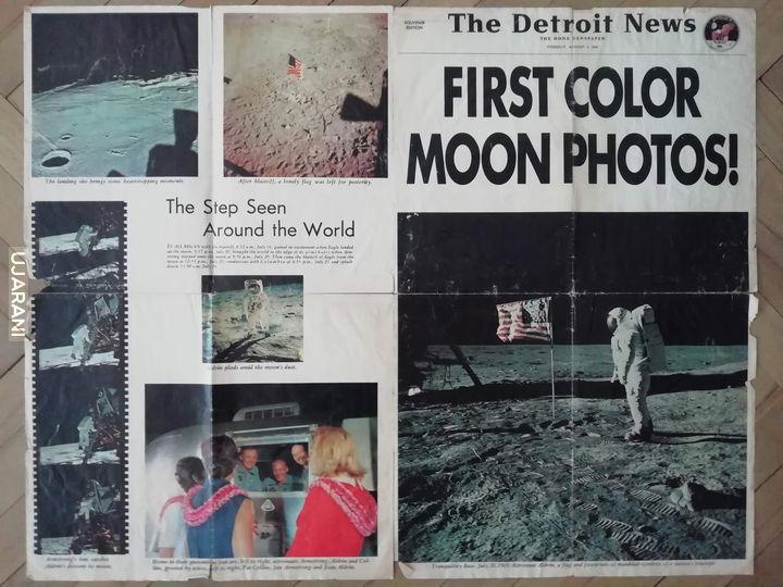 Kolorowo, księżycowo, archiwalnie
