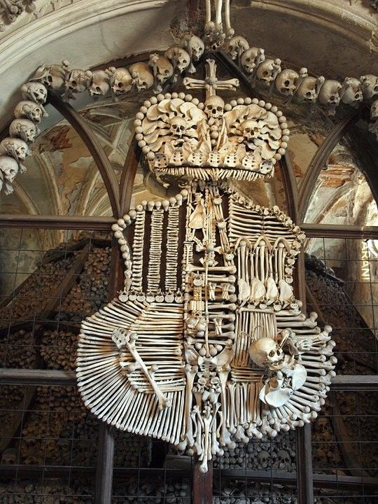 Czechy - Kutná Hora - kaplica czaszek