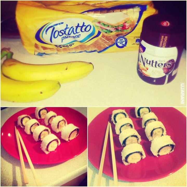 Patencik na bananowe sushi :)
