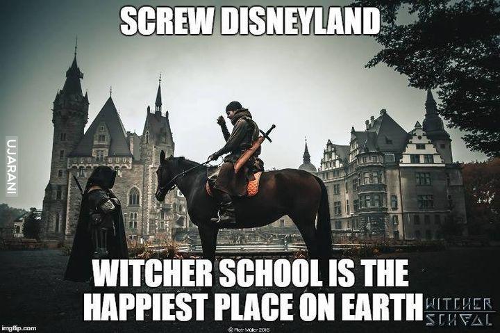 Szkoła Wiedźminów to najlepsze miejsce na świecie!