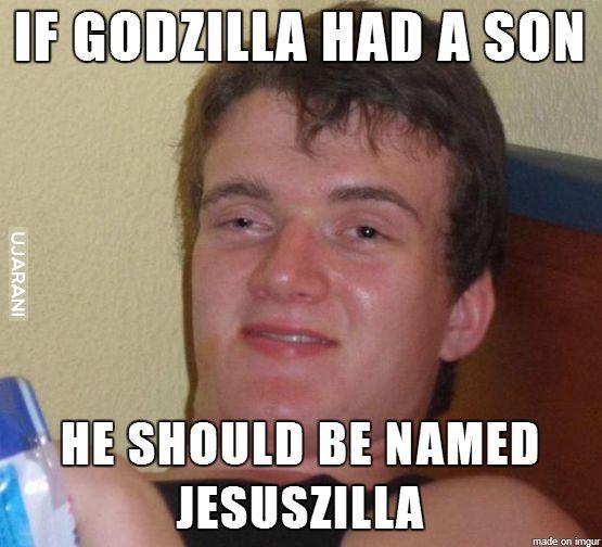 Gdyby Godzilla miał syna..