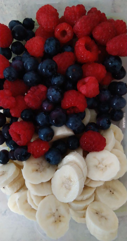 Owocowe śniadanie.