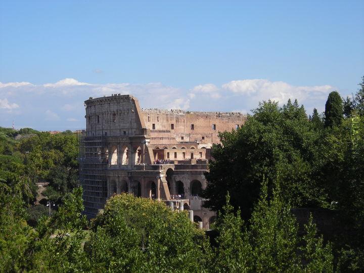 Koloseum z trochę innej strony.