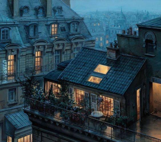 Dom na dachu