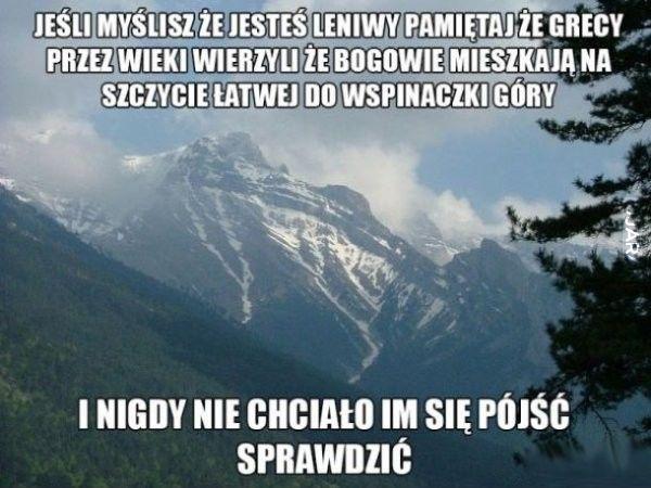 Lenistwo....
