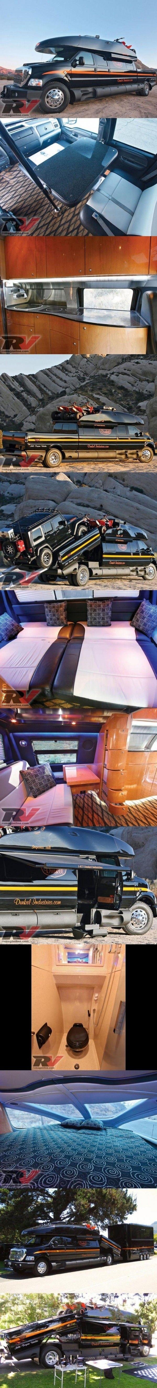 Ford F-750 Dunkel Luxury Hauler 4х4