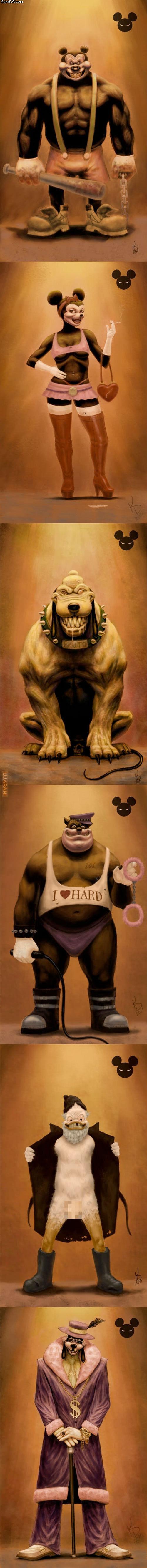 Disney inaczej.
