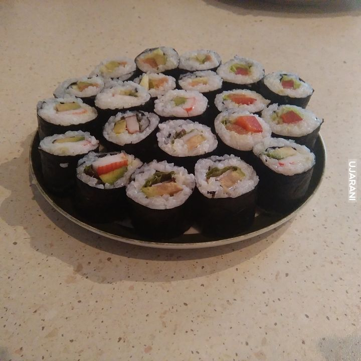 Domowe Sushi!