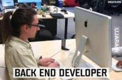 Backend developer ;)
