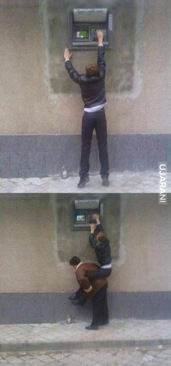Bankomat dla nadludzi